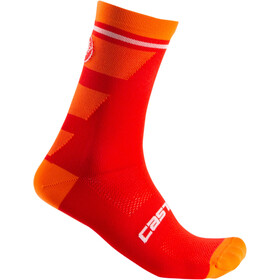 Castelli Trofeo 15 Calcetines, red